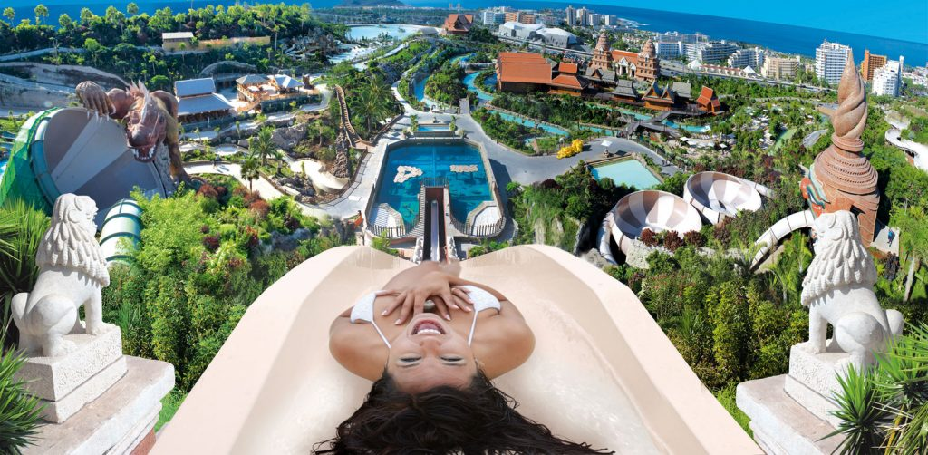 Tenerife Attractions - Siam Park Giant Slide