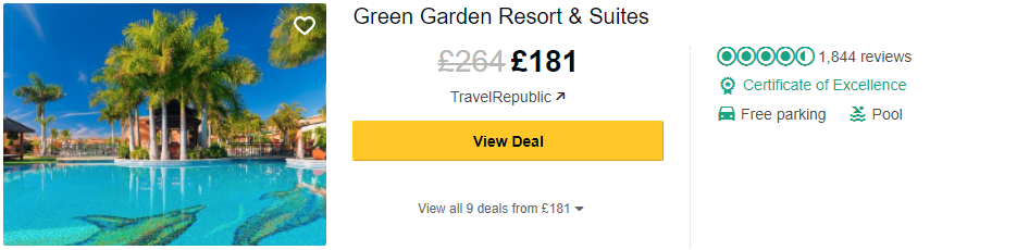 Tripadvisor image – see the latest reviews at Green Garden Resort & Suites and compare prices from multiple suppliers