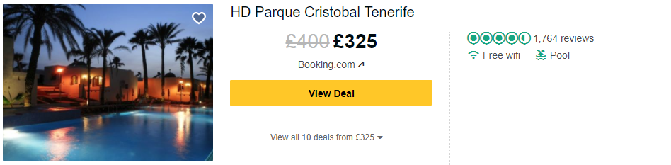 Tripadvisor image – see the latest reviews at HD Parque Cristobal Tenerife and compare prices from multiple suppliers